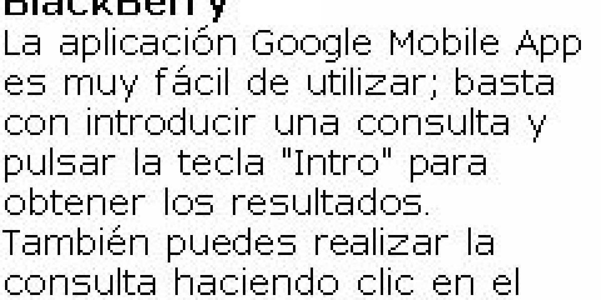 Google actualiza Google Mobile App