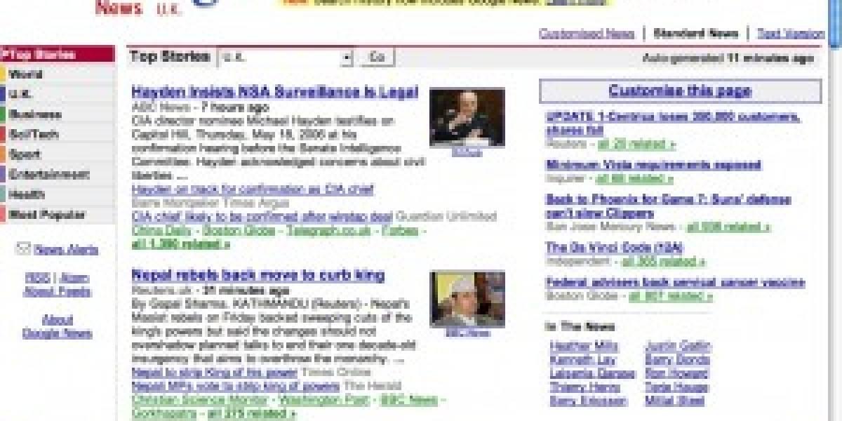 Rupert Murdoch planea sacar un servicio similar a Google News