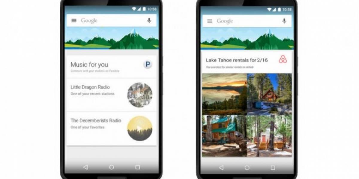 Google Now para Android integrará información de otras aplicaciones