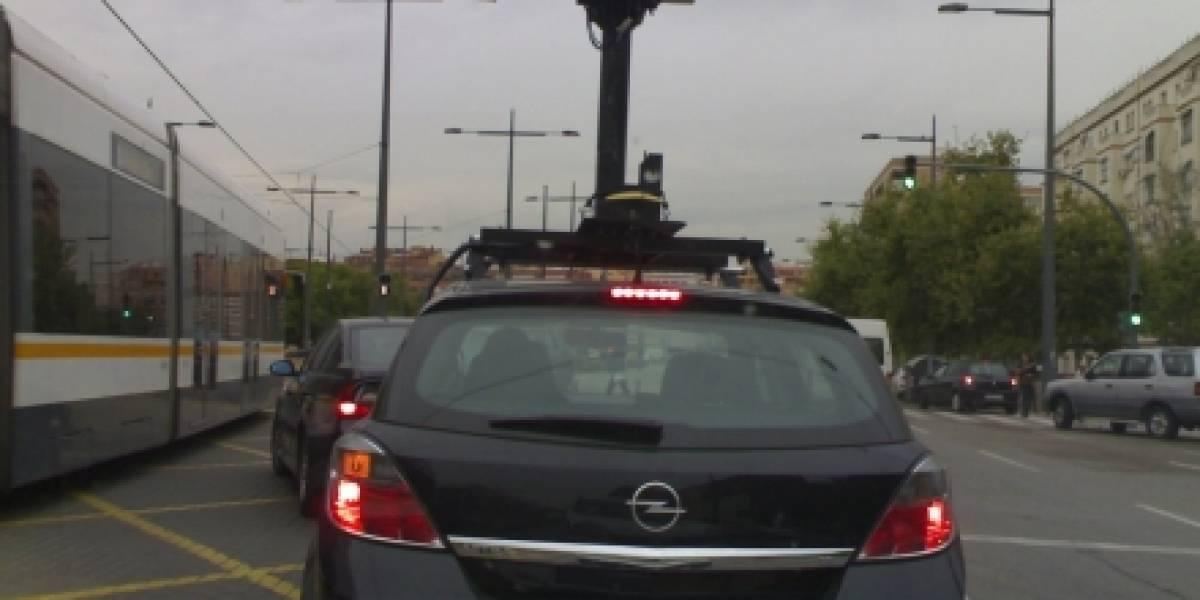 Los autos de Google Street View ya capturan España