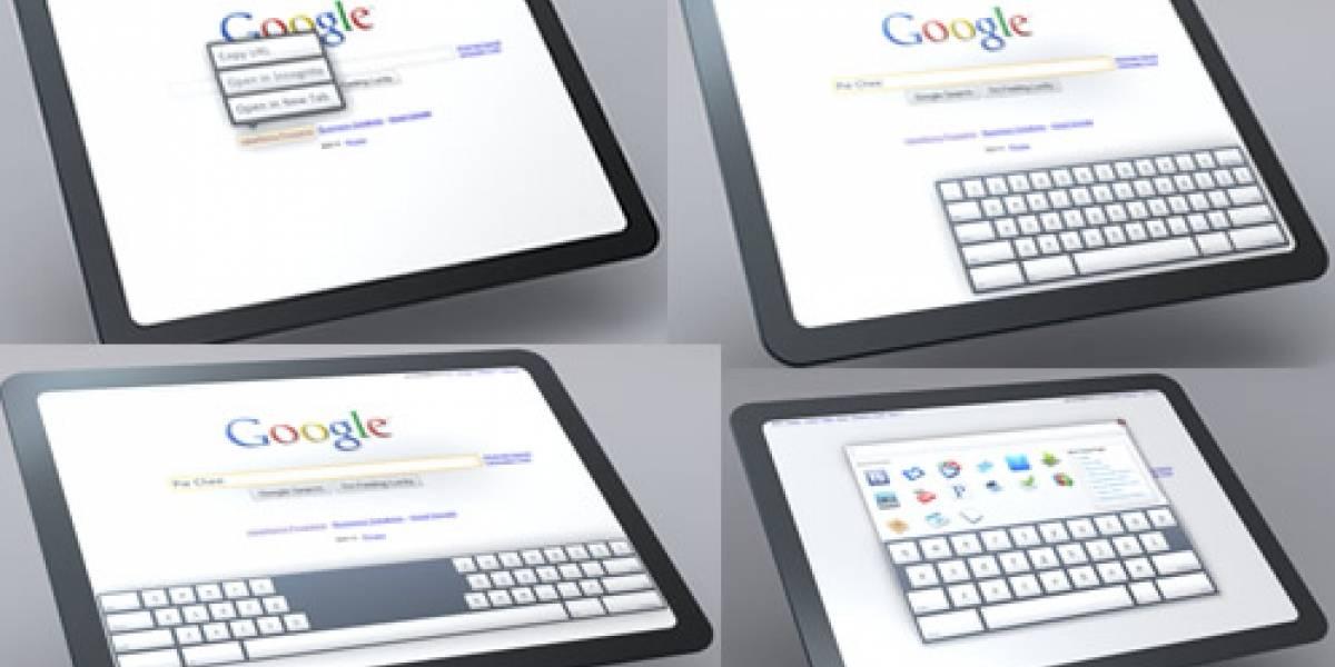 CEO de Google confirma desarrollo de tablet con Android