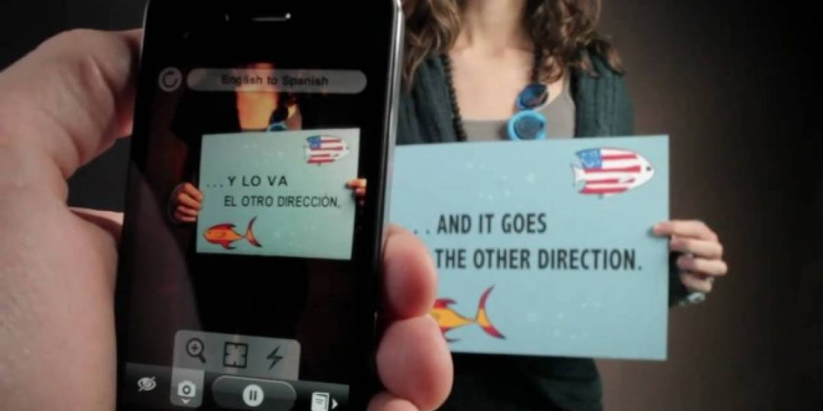 Google Translate ahora permite traducir textos en el mundo real