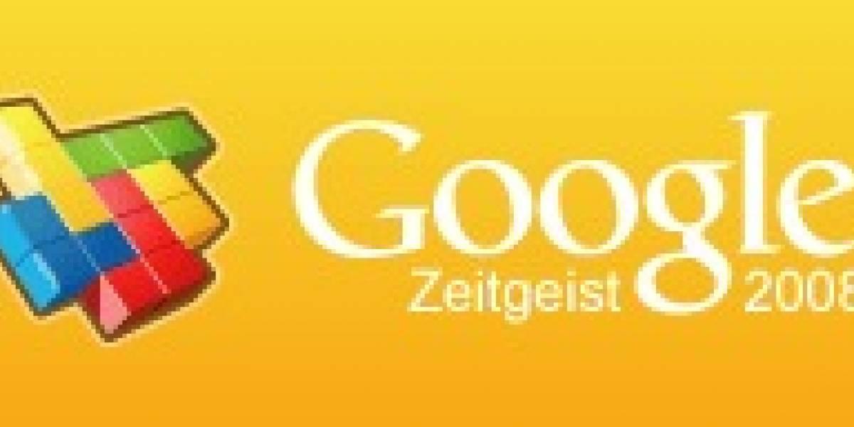 Lo más buscado en Google en el 2008