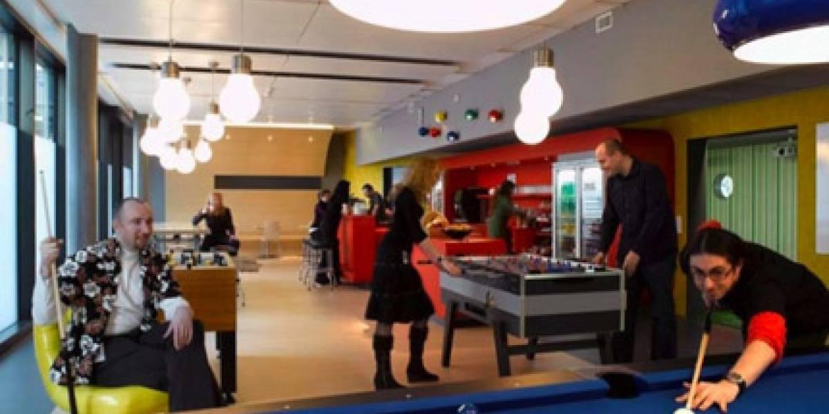 Oficinas de Google en Zurich: Desde donde NO estoy escribiendo este post