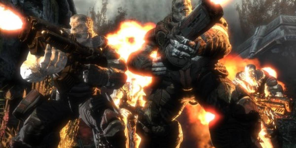 Gears of War 2 ya disponible