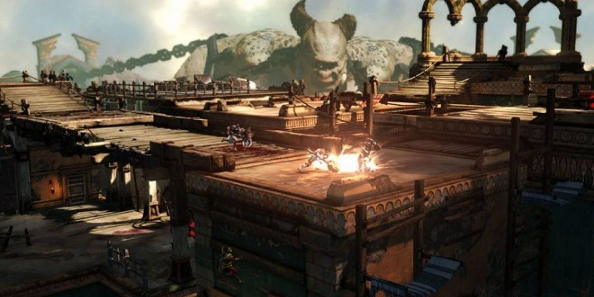 Hoy comienza la beta de God of War: Ascension