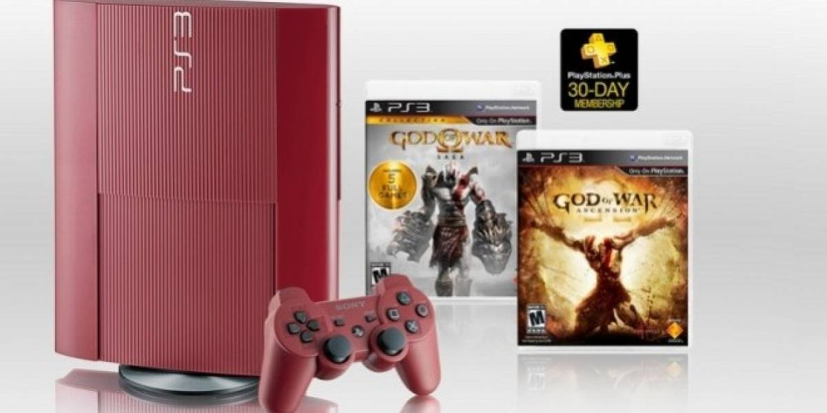 La edición limitada de PS3 con God of War: Ascension incluye seis juegos