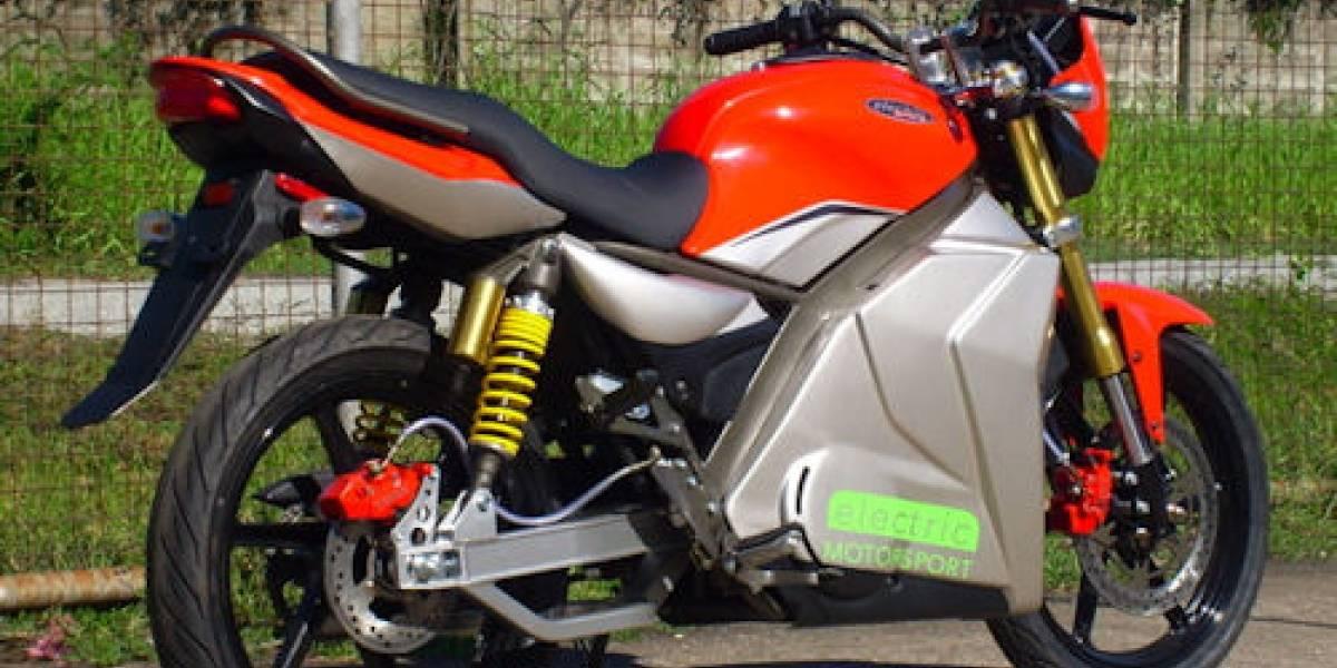 """Electric Motosport GPR-S, motocicleta eléctrica de """"bajo"""" costo"""