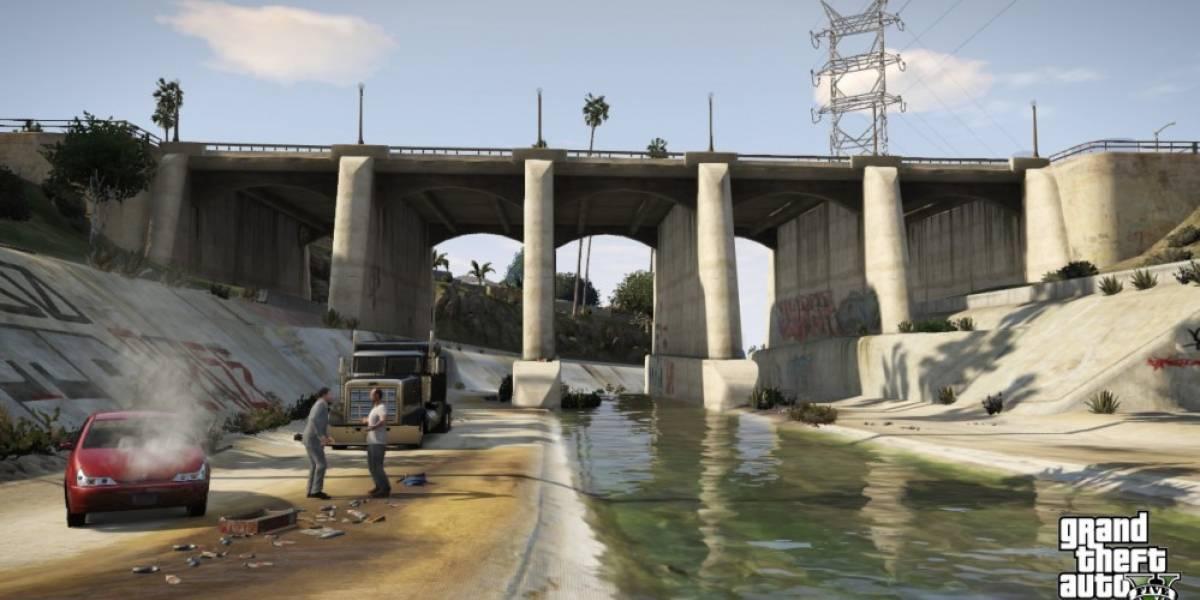 La versión digital de Grand Theft Auto V tambien sufre de problemas técnicos