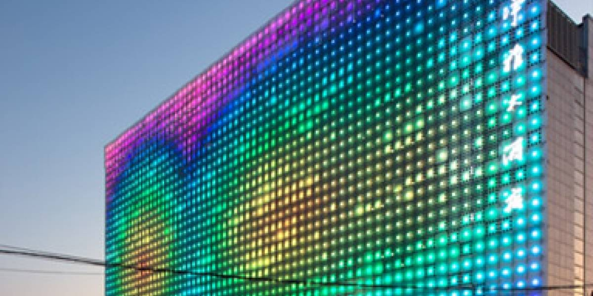 greenPIX: El display LED a color más grande del mundo