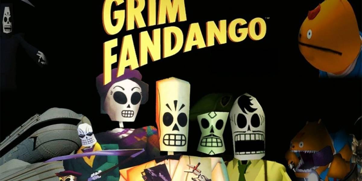 Tim Schafer muestra una retrospectiva de Grim Fandango #E32014