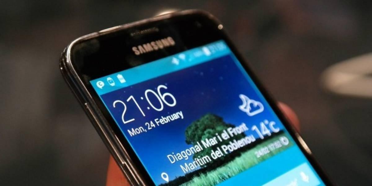 El costo en materiales del Samsung Galaxy S5 es de USD$256