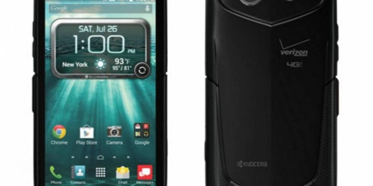Kyocera lanza el primer smartphone con pantalla de zafiro