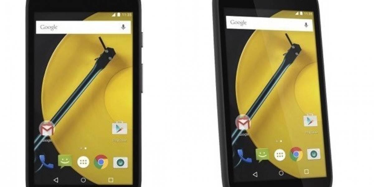 Motorola Moto E 2015 se filtra completamente