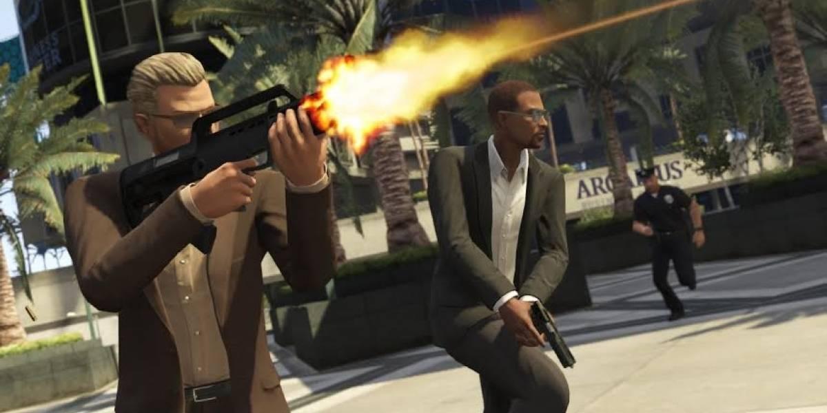 Los grandes asaltos llegarán a Grand Theft Auto Online