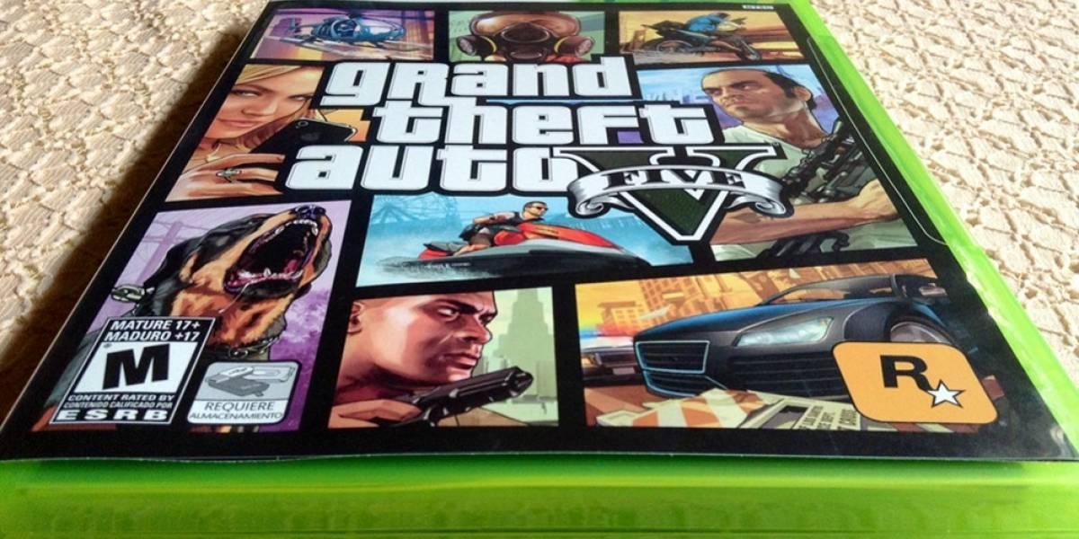 Rockstar recomienda no instalar el disco del juego de Grand Theft Auto V en la Xbox 360