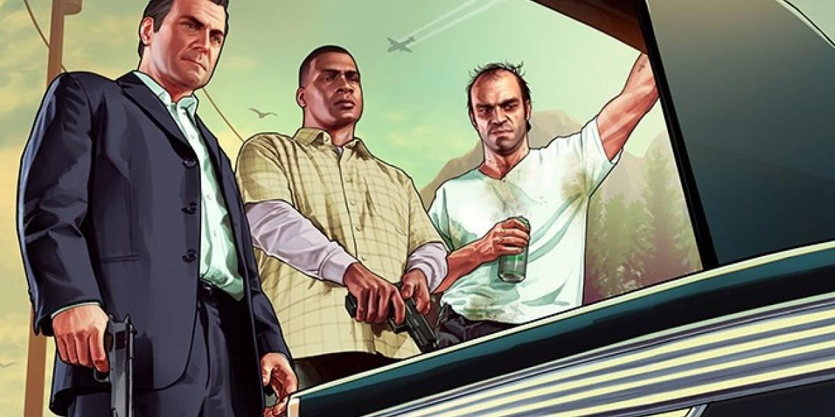Grand Theft Auto V ya tiene fecha de lanzamiento