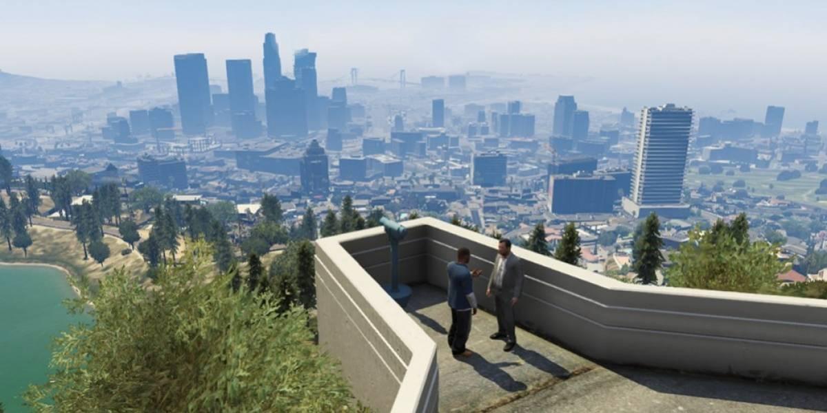 Así se construyó Los Santos en Grand Theft Auto V
