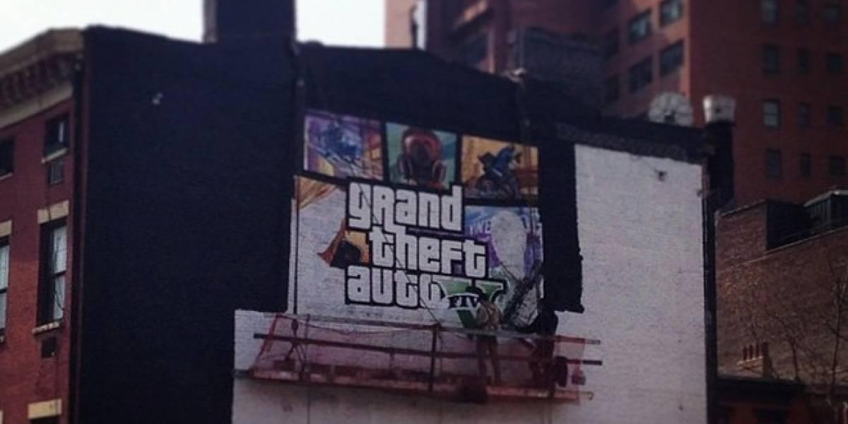 Rockstar Games muestra finalmente la portada de Grand Theft Auto V