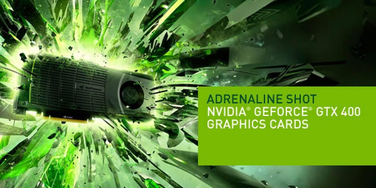 Nvidia Geforce GTX 570 el 8 de diciembre