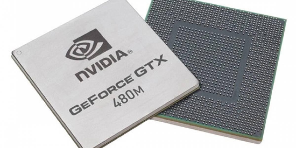 NVIDIA presenta GTX 480M
