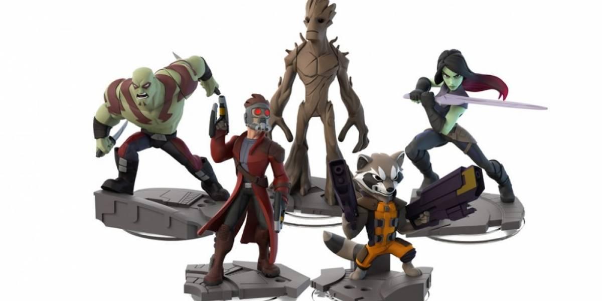 Los Guardianes de la Galaxia llenan el reparto de Marvel en Disney Infinity