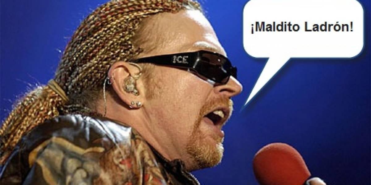 Arrestan a joven por ofrecer canciones inéditas de Guns N' Roses en su blog