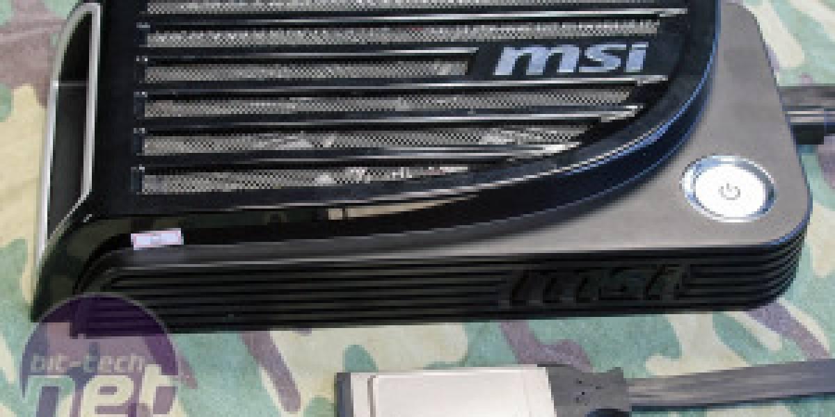 MSI GUS: Gráficos externos para laptops