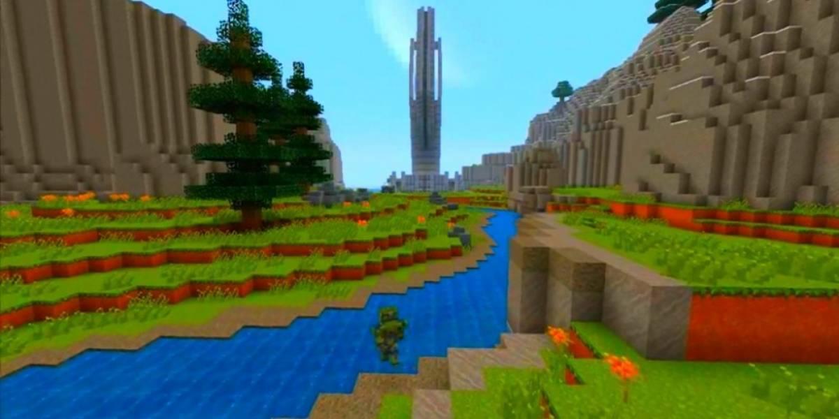 El mundo Halo llega a Minecraft en Xbox 360