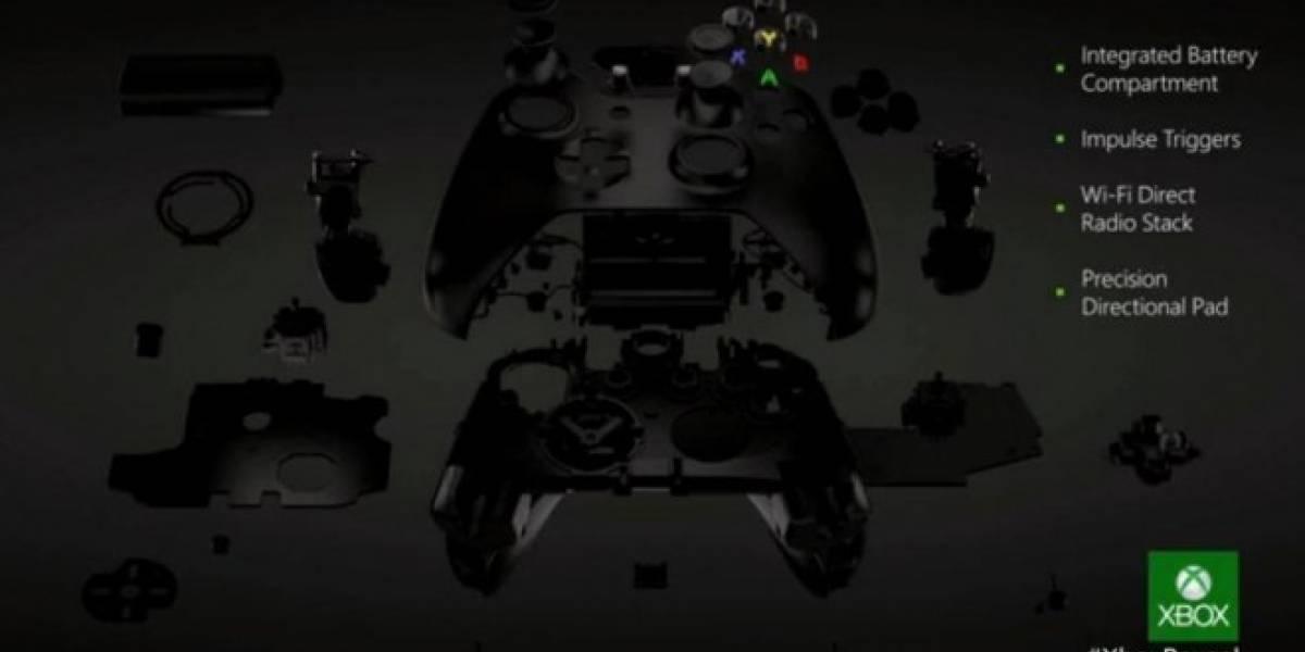 El hardware de Xbox One y su nuevo control #XboxReveal