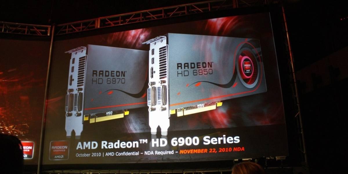 Más detalles de las AMD Radeon HD 6950 y 6970