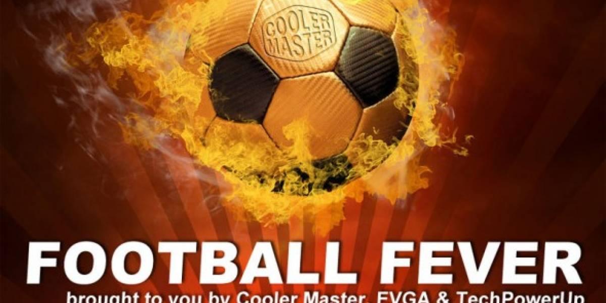 Cooler Master, EVGA y TechPowerUp tienen concurso futbolero