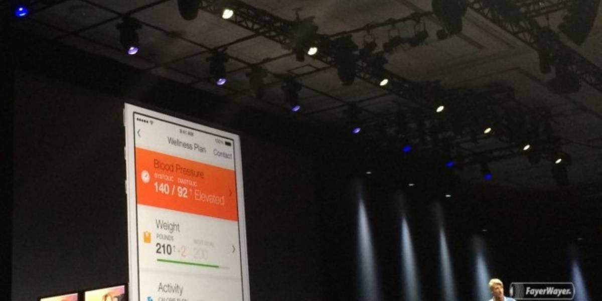 Apple revela HealthKit, su aplicación para monitorear nuestra salud #WWDC2014