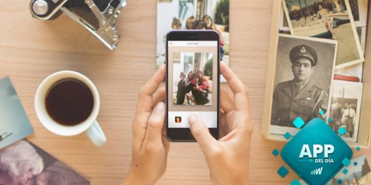Heirloom digitaliza tus viejas fotos en papel [App del día]