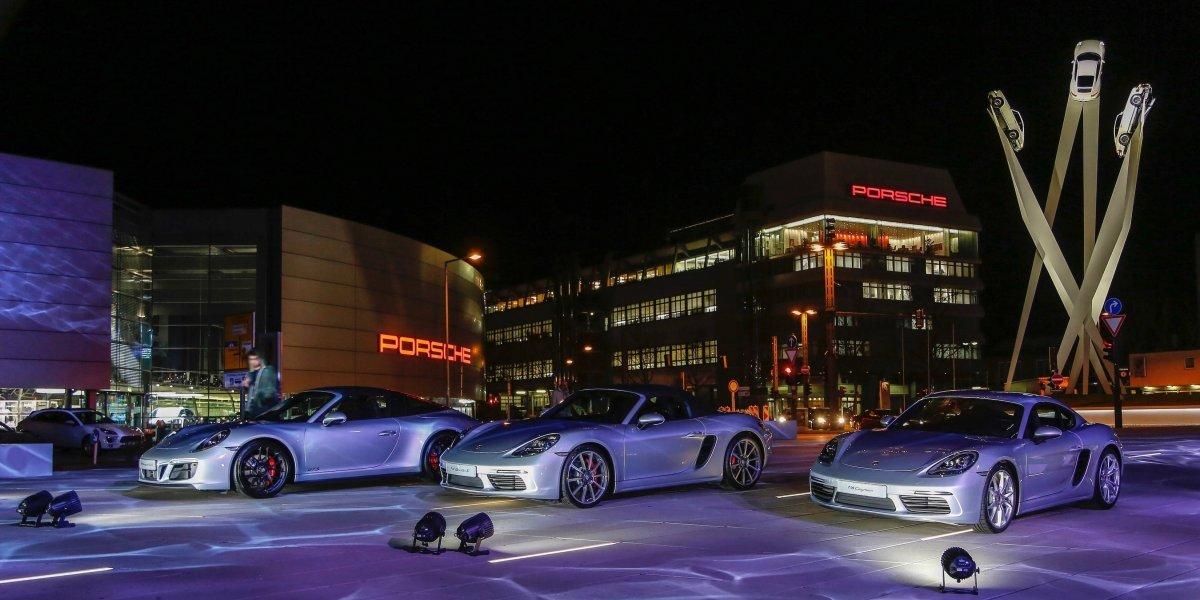 Porsche celebra 70 años de autos deportivos