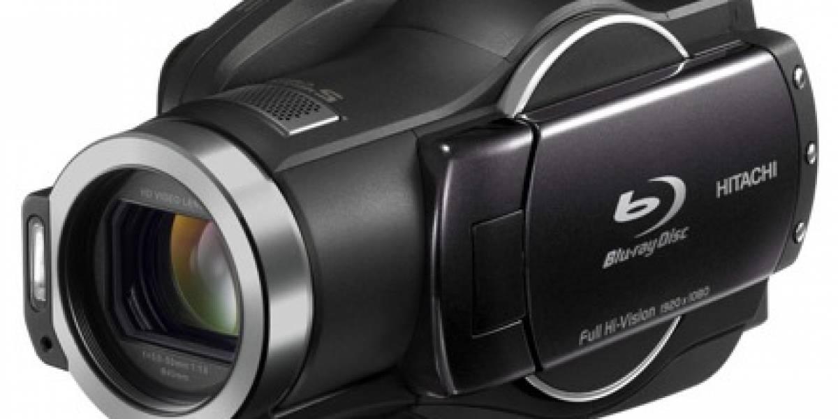 Hitachi DZ-BD9H: Filma 1080p en Blu-ray o disco duro de 60GB