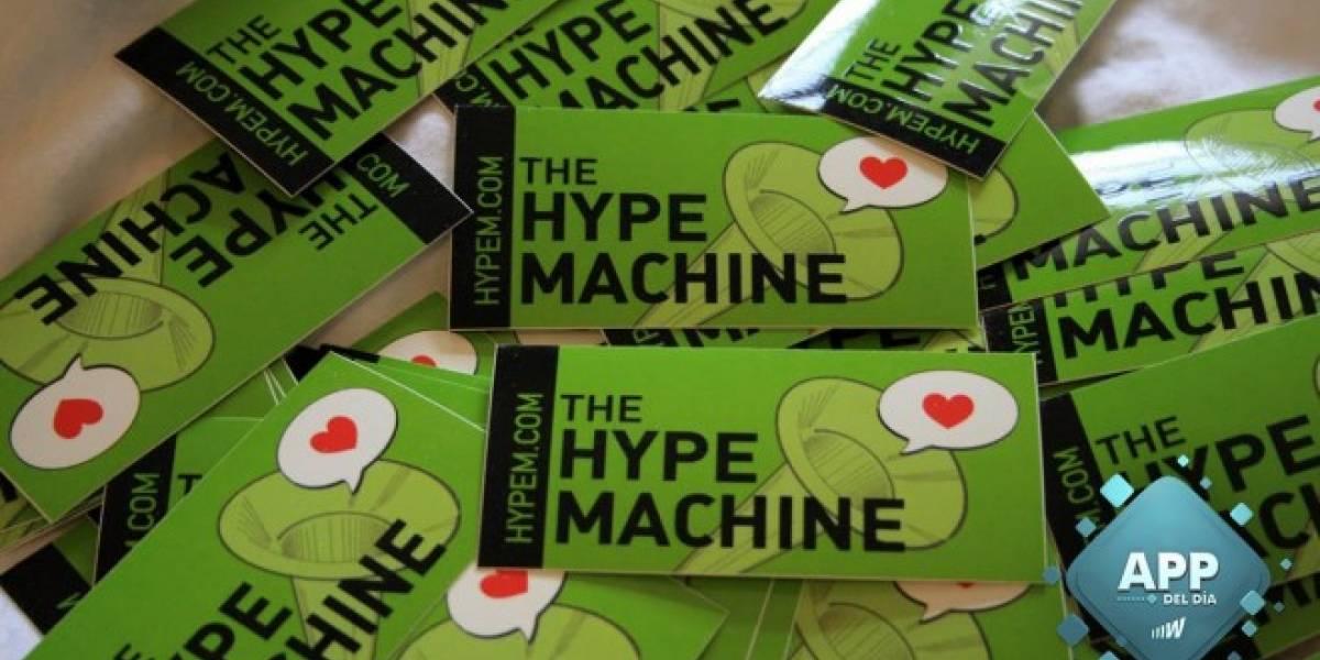 Hype Machine, descubre nueva música que otros no están escuchando [App del día]