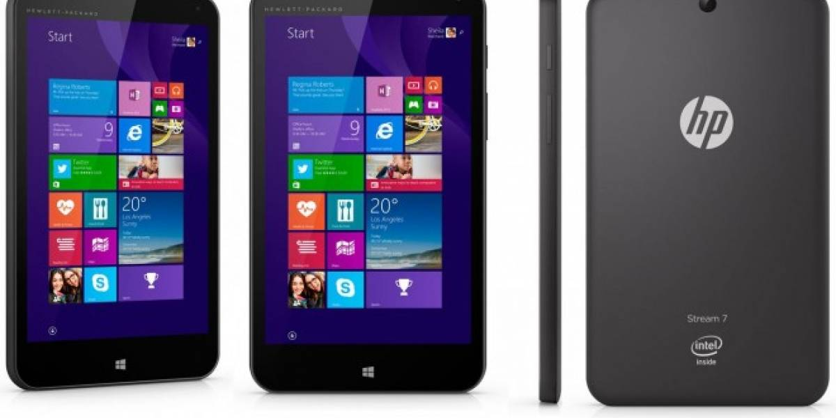 HP lanzará tablet con Windows 8.1 with Bing por USD$100