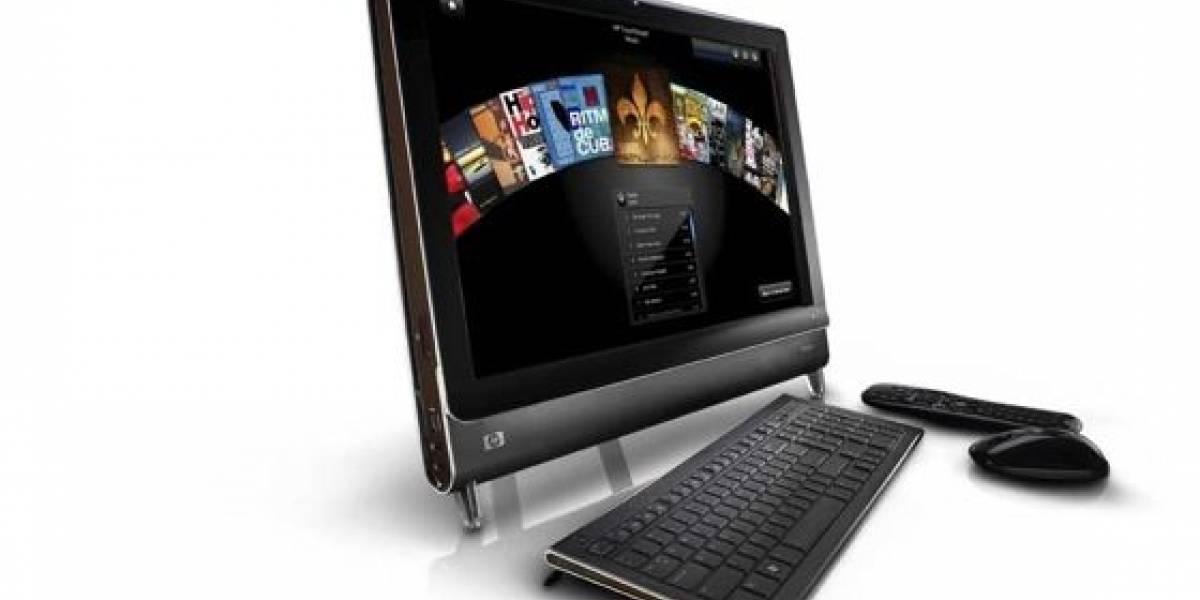 HP TouchSmart PC: Computador todo en uno con pantalla táctil y sintonizador de TV