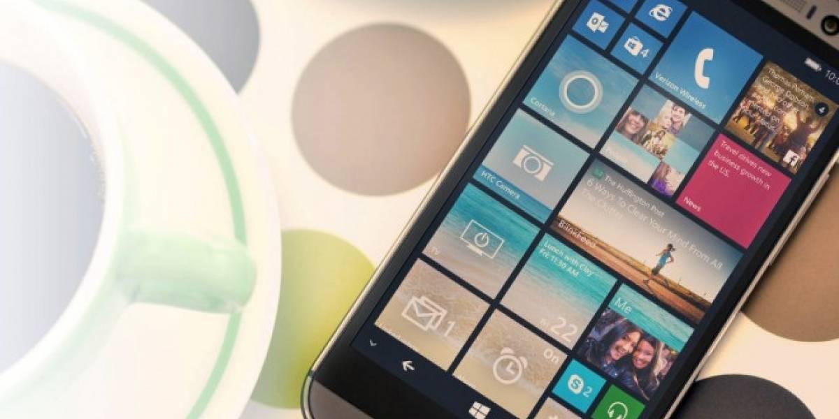 HTC One M8 consigue mejor duración de la batería con Windows Phone que con Android