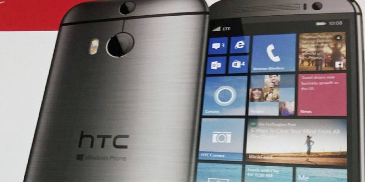 HTC prepara el lanzamiento del HTC One M8 con Windows Phone para mañana