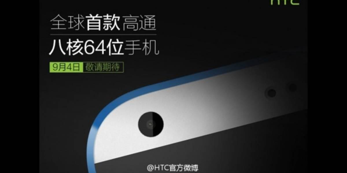 HTC Desire 820, el primer Android 64-bit ha sido confirmado