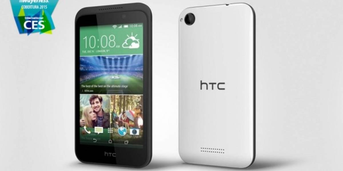 HTC anuncia el Desire 320 #CES2015