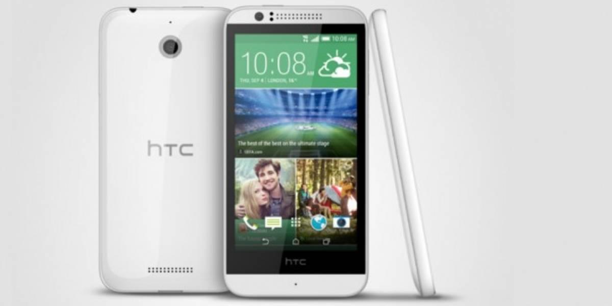 HTC Desire 510, el primer gama baja de 64 bits llegará en septiembre