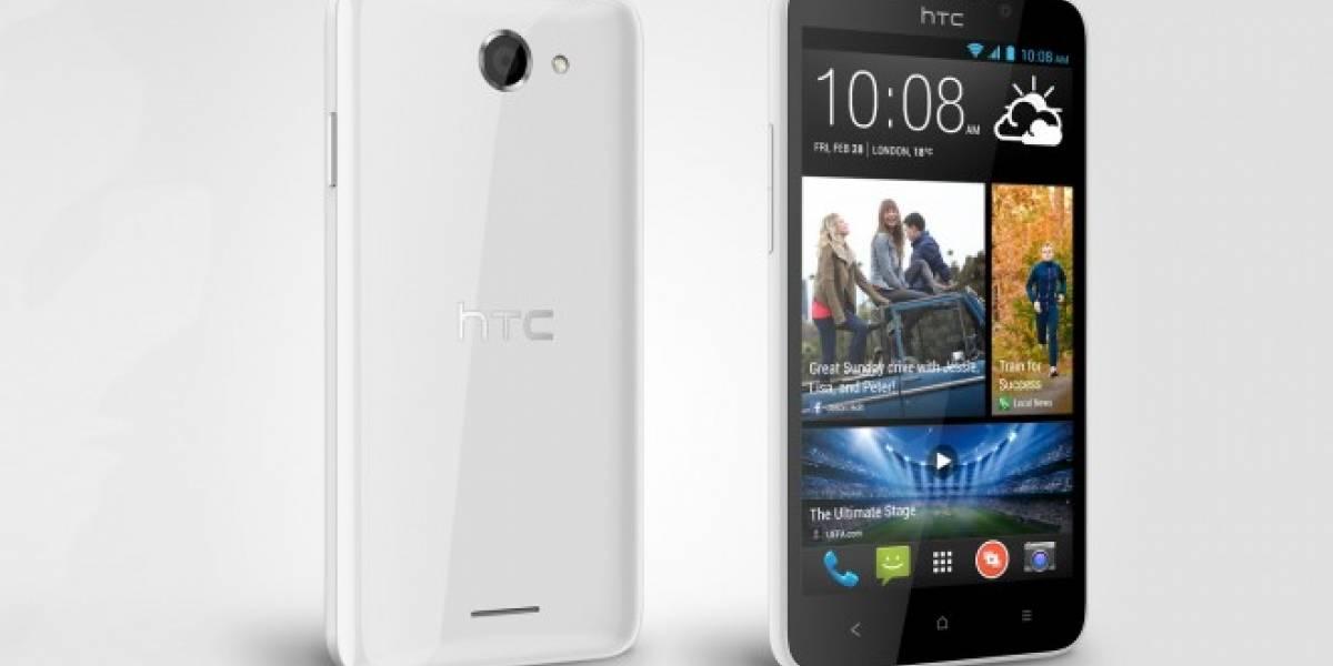 HTC competirá en Europa en la gama media con el Desire 516. No trae KitKat