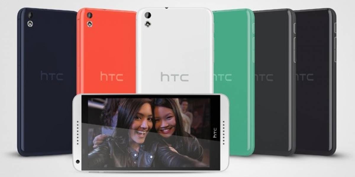 HTC Desire 816, el nuevo gama media de la compañía #MWC14