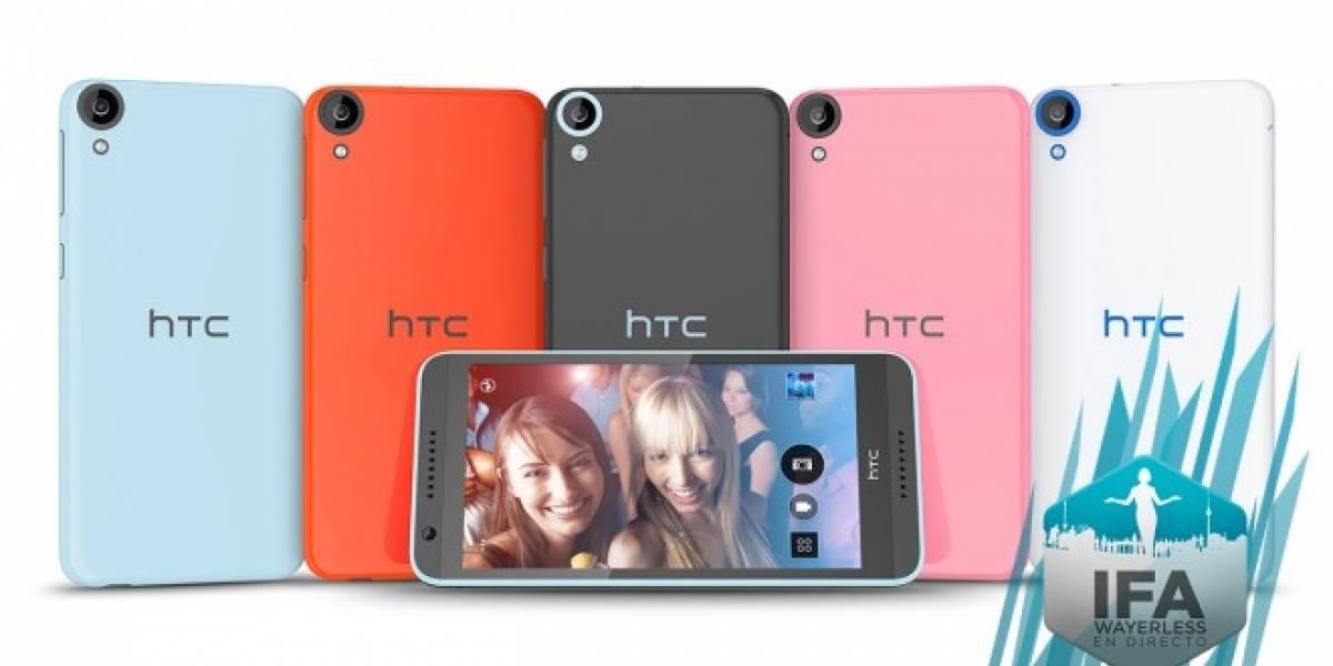 HTC Desire 820 se corona con procesador de 64-bits #IFA2014