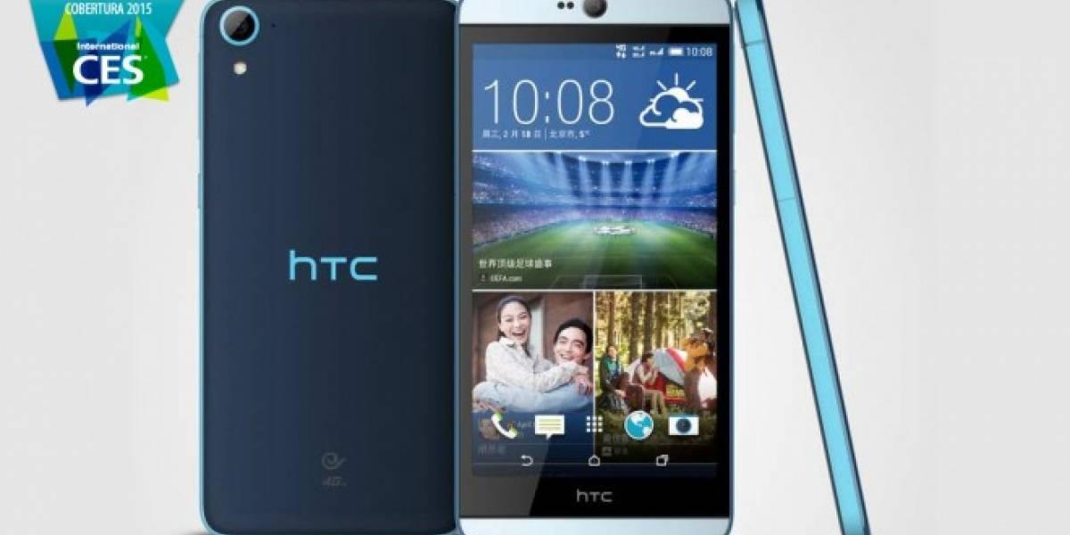 HTC Desire 826 trae los ultrapíxeles a la cámara frontal #CES2015