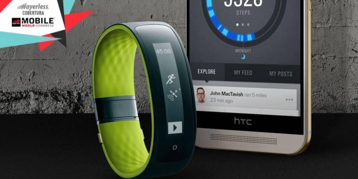 HTC Grip, la nueva smartband de HTC en el #MWC15