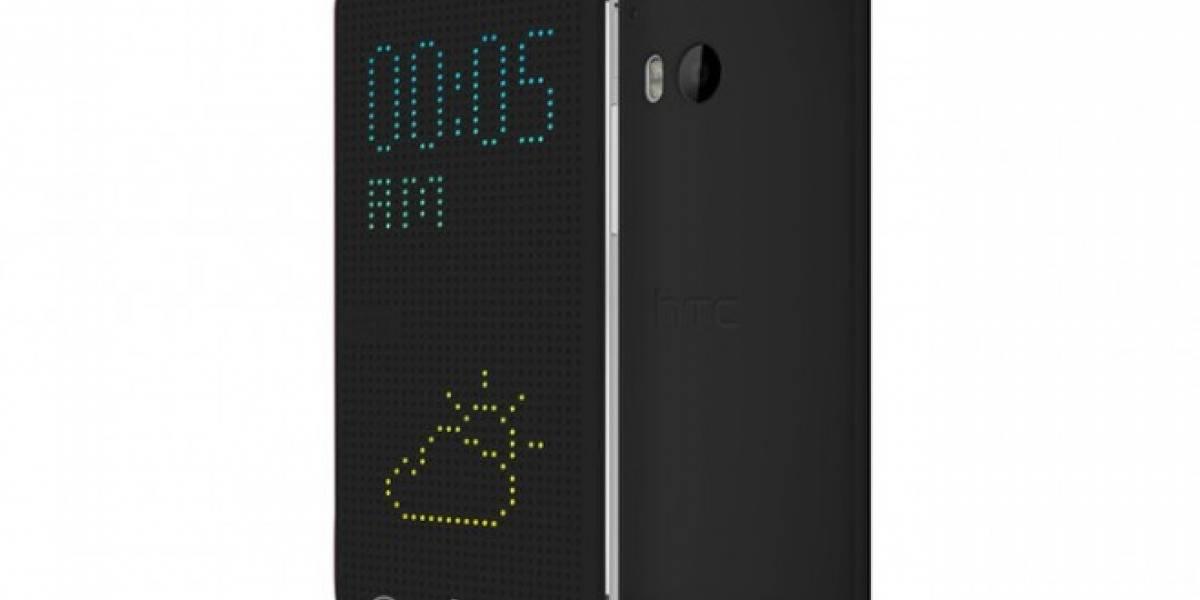 Se filtra una funda inteligente para el próximo gama alta de HTC